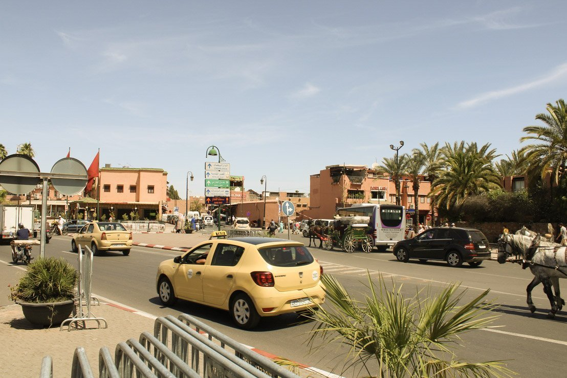 marraquexe medina marrocos