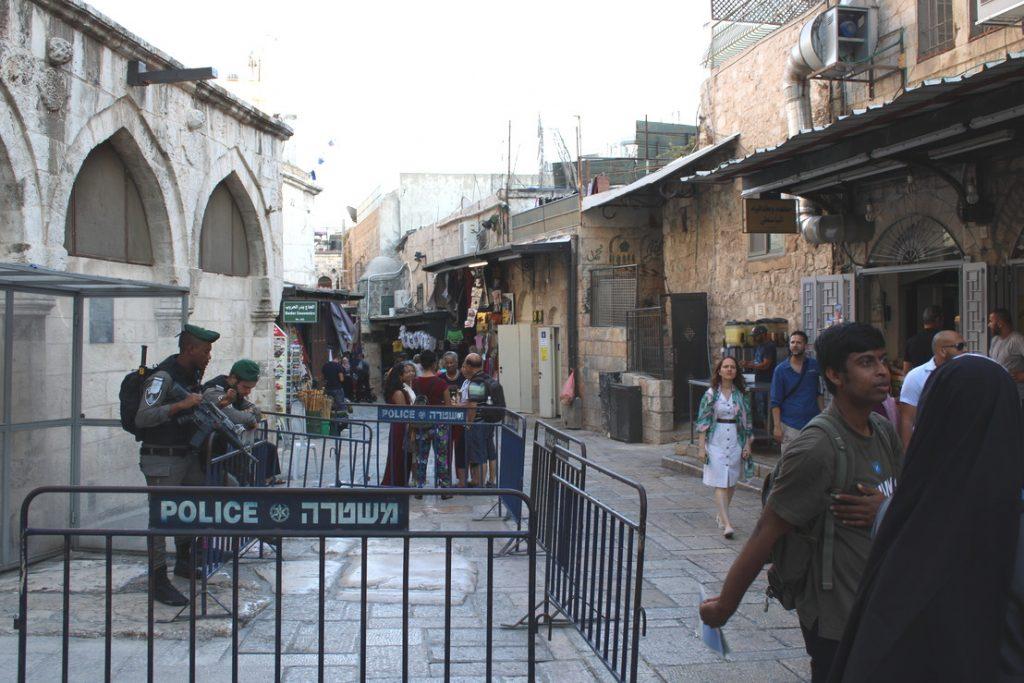 policia jerusalém