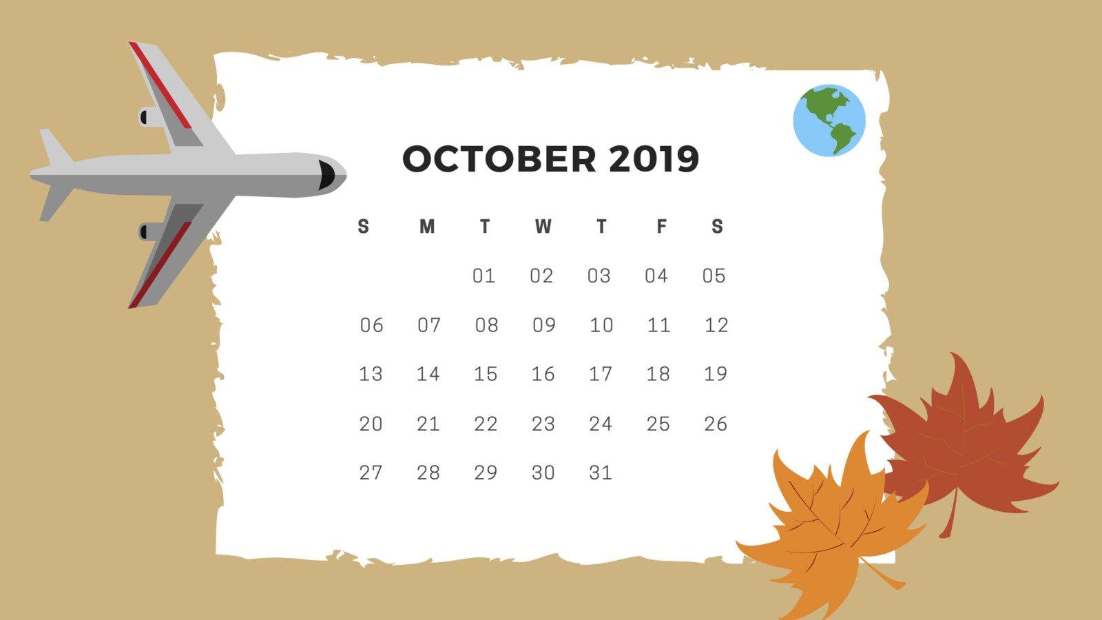viajar no próximo outubro