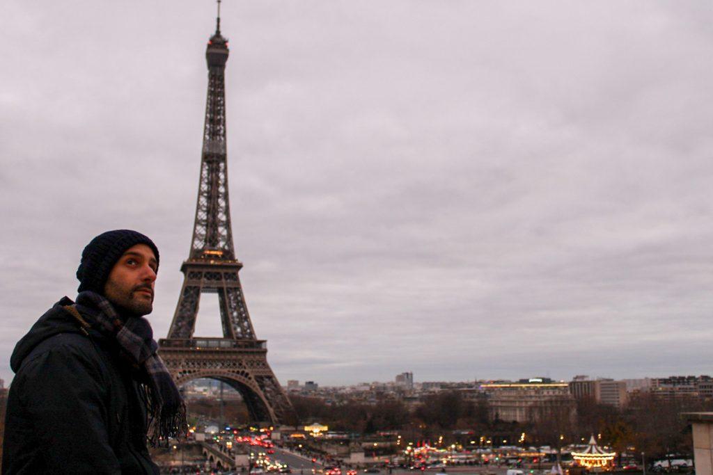 um dia em paris